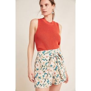Anthropologie Georgine Skirted Shorts NWT